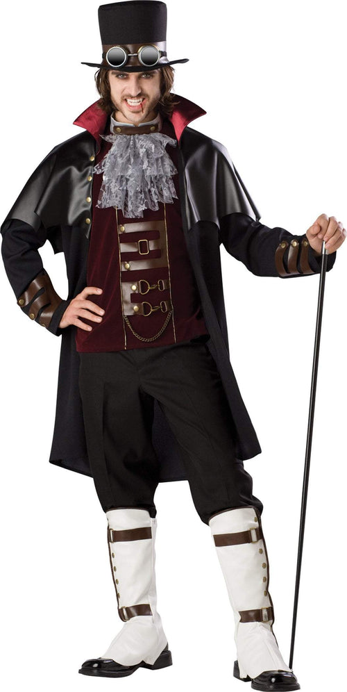 InCharacter Costumes L Steampunk Vampire Deluxe Costume