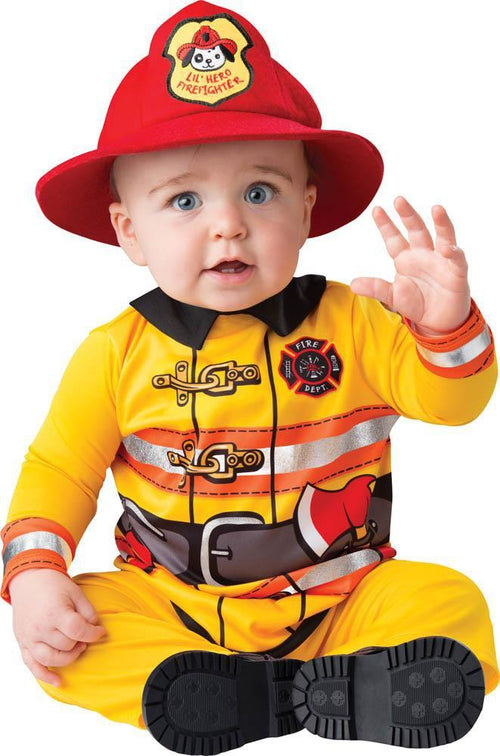 InCharacter Costumes LARGE (18-24) Baby Boys Fearless Firefighter Costume
