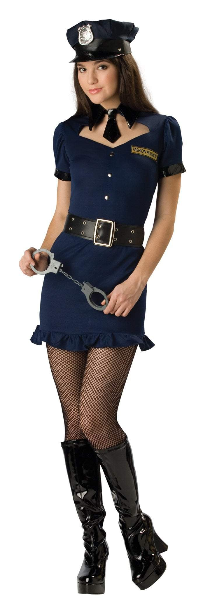 InCharacter Costumes LARGE (9-11) Teen Girls Fashion Police Costume