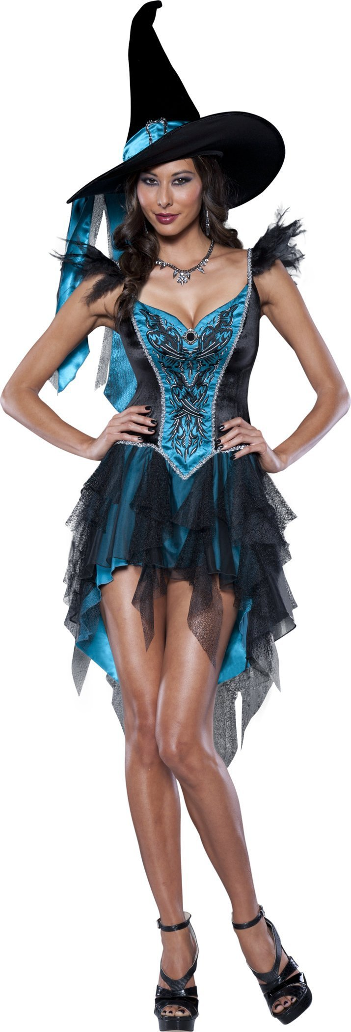 InCharacter Costumes LARGE Adult Enchanting Witch Deluxe Costume
