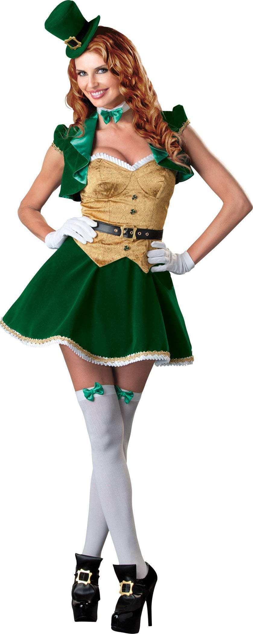 InCharacter Costumes LARGE Adult Lucky Lass Deluxe Costume