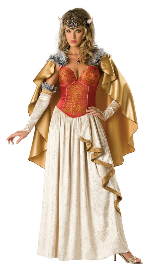 InCharacter Costumes LARGE Deluxe Viking Princess Costume