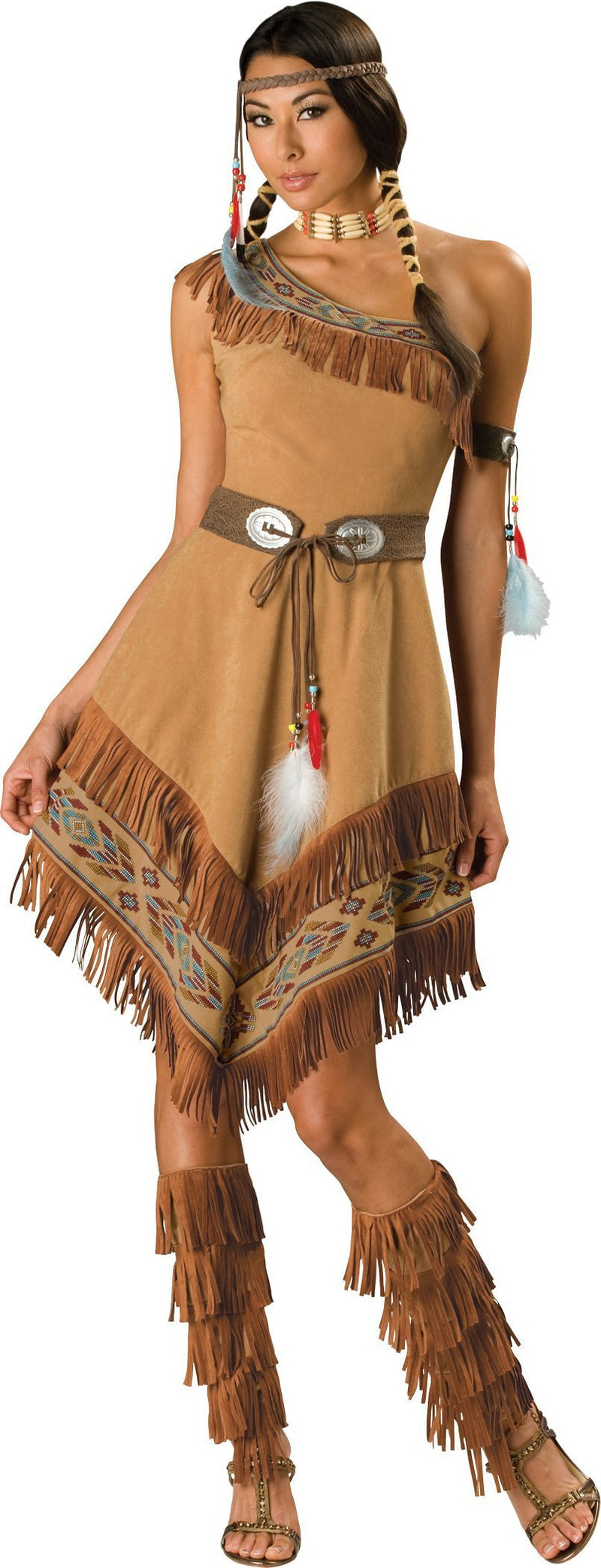 InCharacter Costumes LARGE Indian Maiden Deluxe Costume