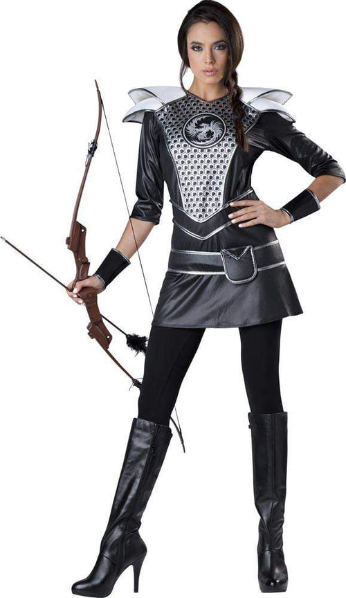 InCharacter Costumes LARGE Midnight Huntress Costume