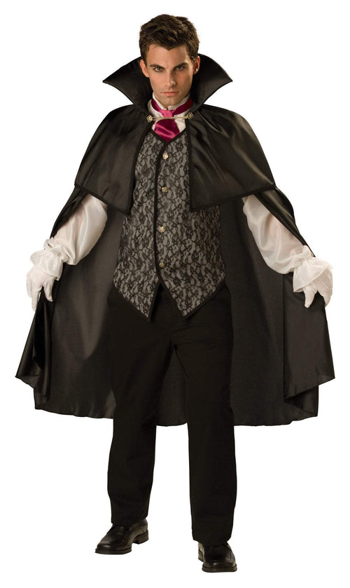InCharacter Costumes LARGE Midnight Vampire Costume