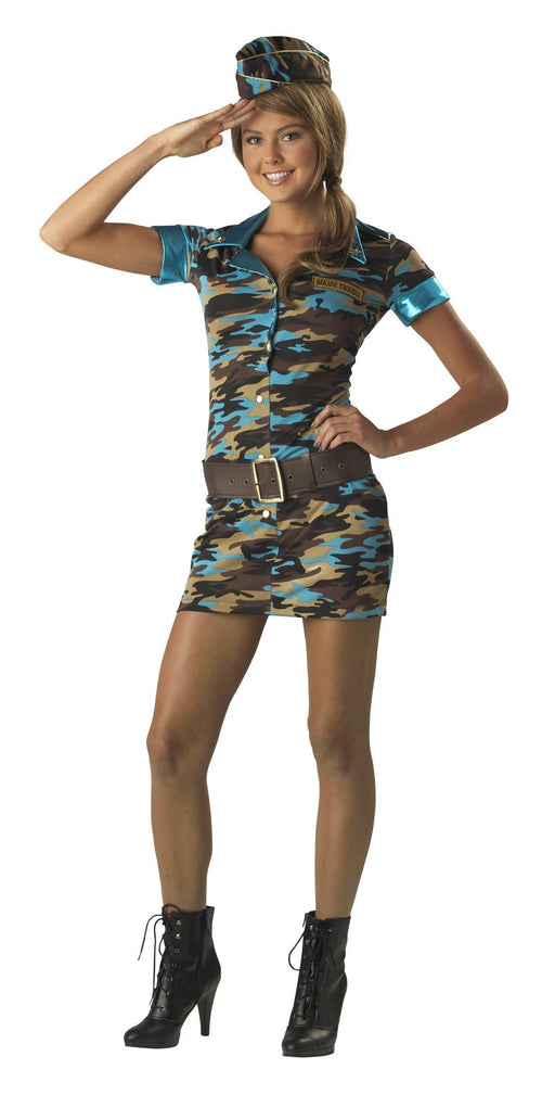 InCharacter Costumes LARGE Teen Girls Major Trouble Costume
