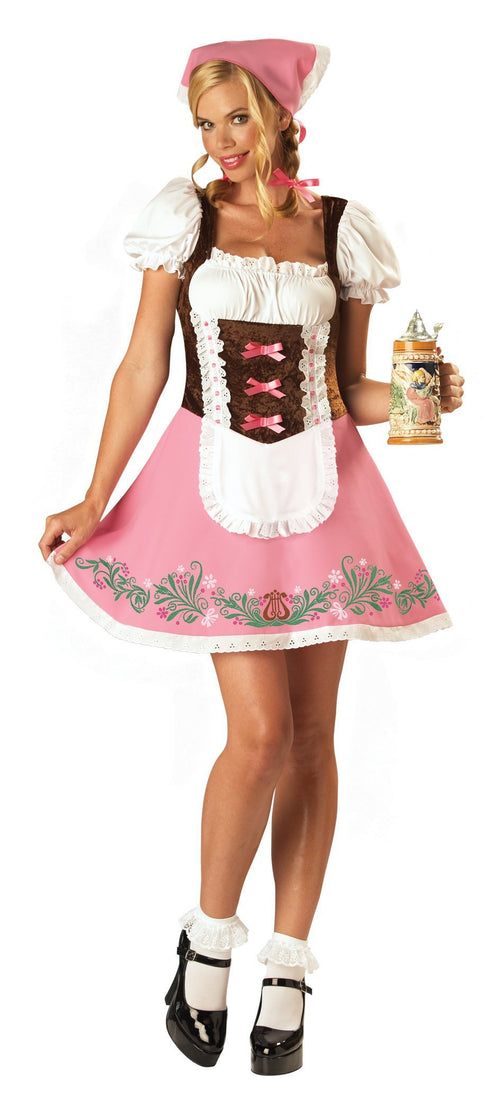 InCharacter Costumes MEDIUM Adult Fetching Fraulein Costume - Beer Girl