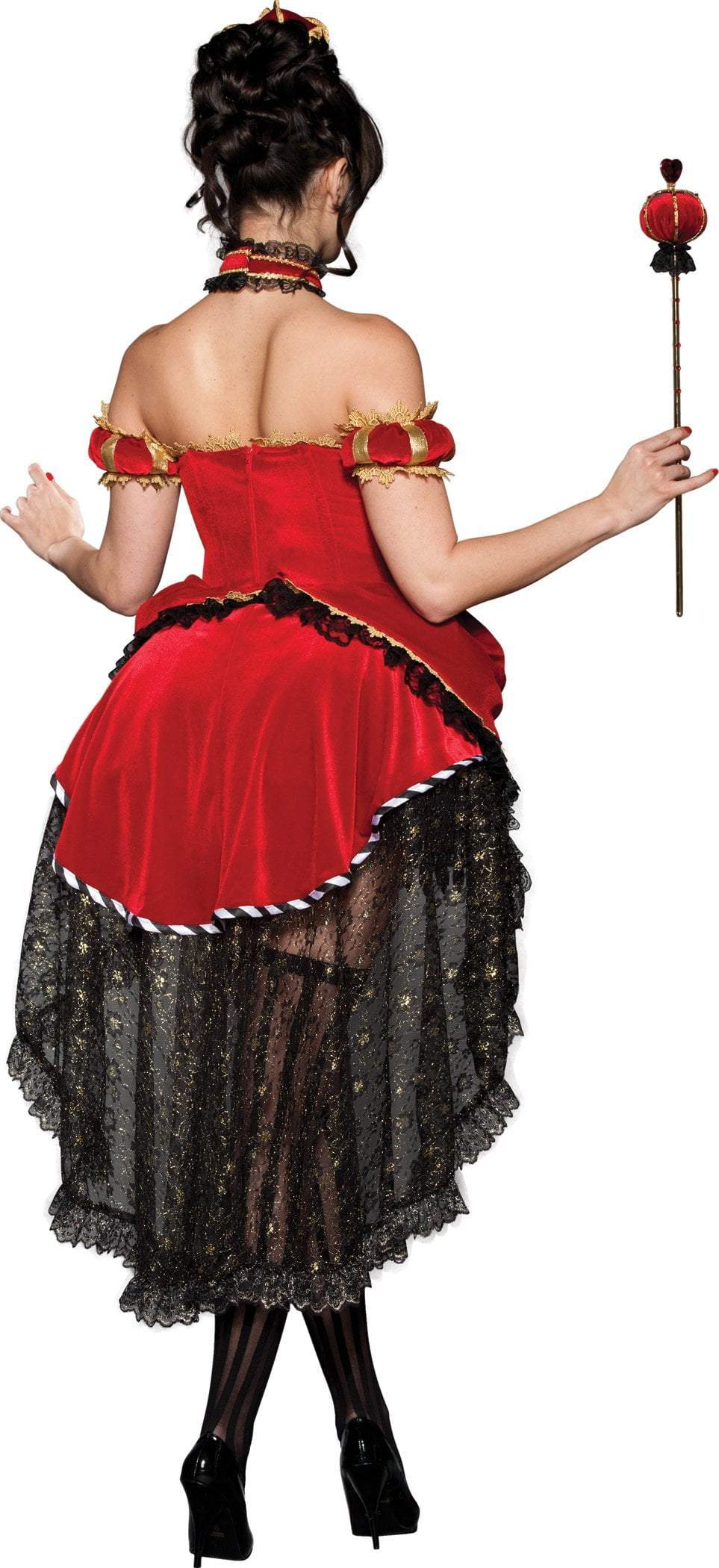 InCharacter Costumes Queen of Hearts Deluxe Costume
