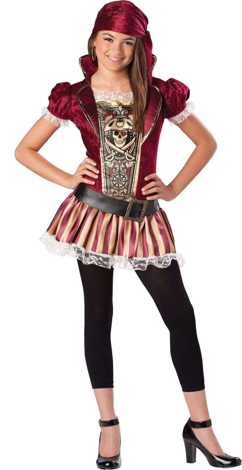 InCharacter Costumes X-LARGE Girls Swashbucklin' Sass Pirate Costume