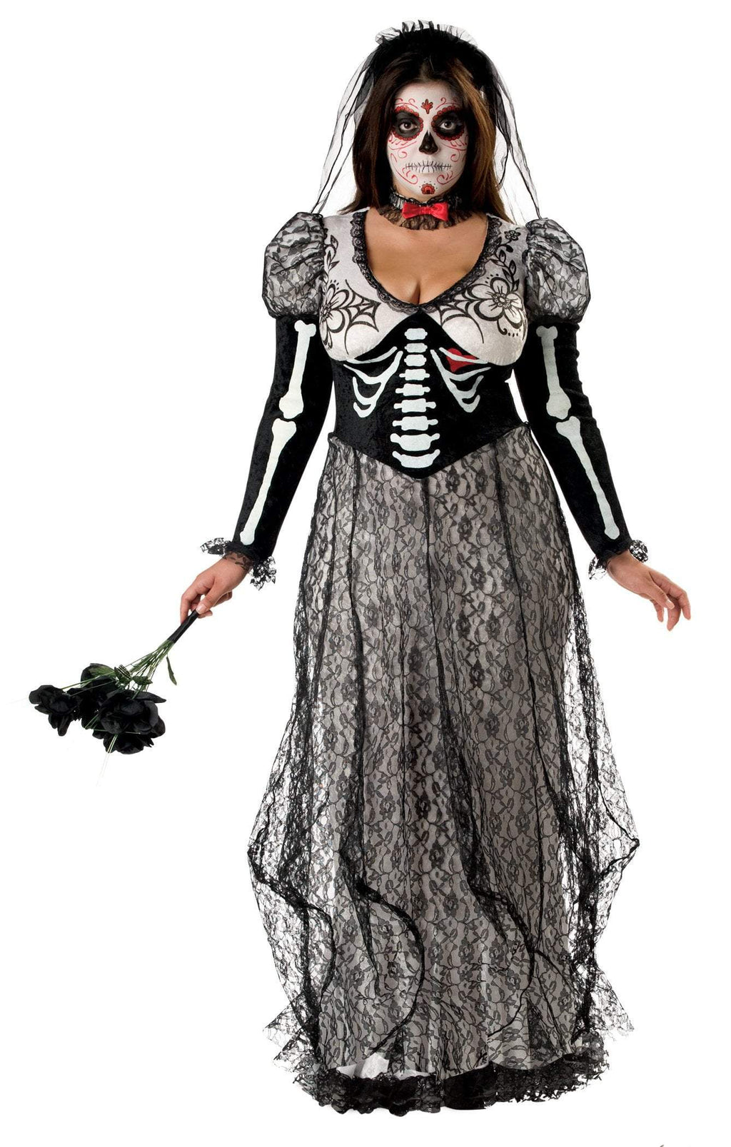 InCharacter Costumes XX-Large Plus Size Boneyard Bride Costume