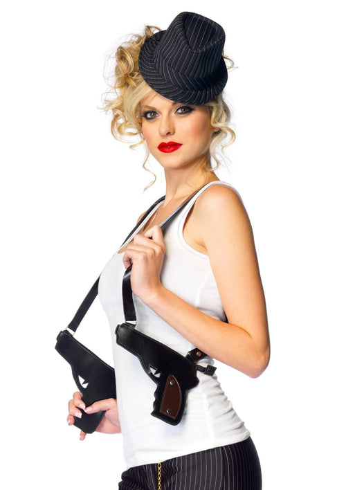 Leg Avenue Costume Accessories BLACK Gun Holster