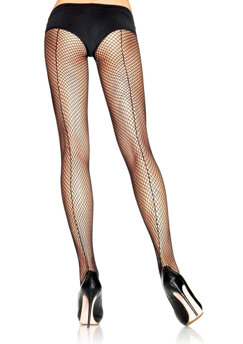 34dfdaff5 Plus Size Backseam Fishnet Pantyhose.  6.99. Leg Avenue ...