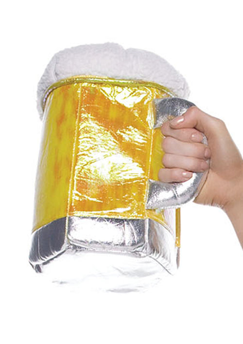 Leg Avenue Costume Accessories GOLD / O/S Gold Beer Stein Purse