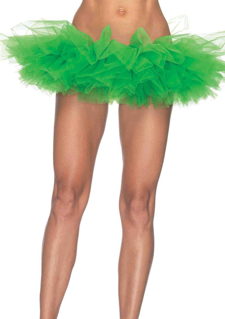 Leg Avenue Costume Accessories KELLY GREEN / O/S Organza Tutu