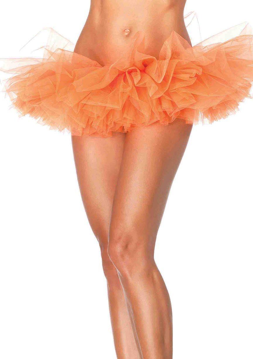 Leg Avenue Costume Accessories NEON ORANGE / O/S Organza Tutu