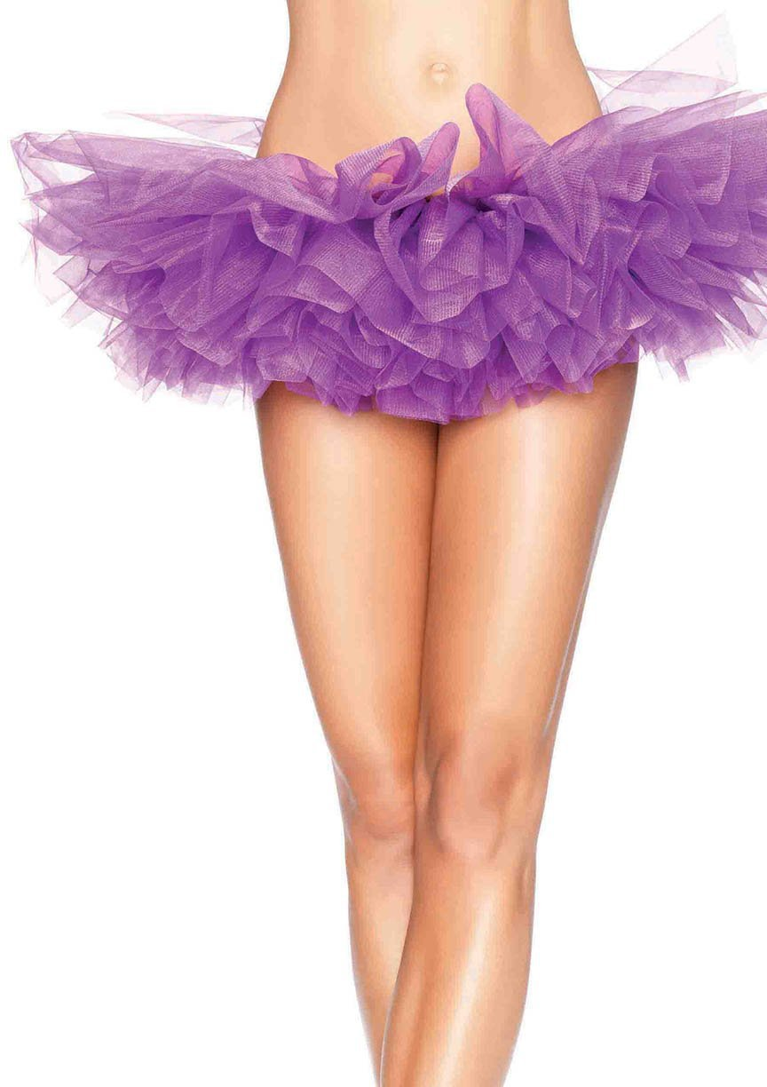 Leg Avenue Costume Accessories PURPLE / O/S Organza Tutu