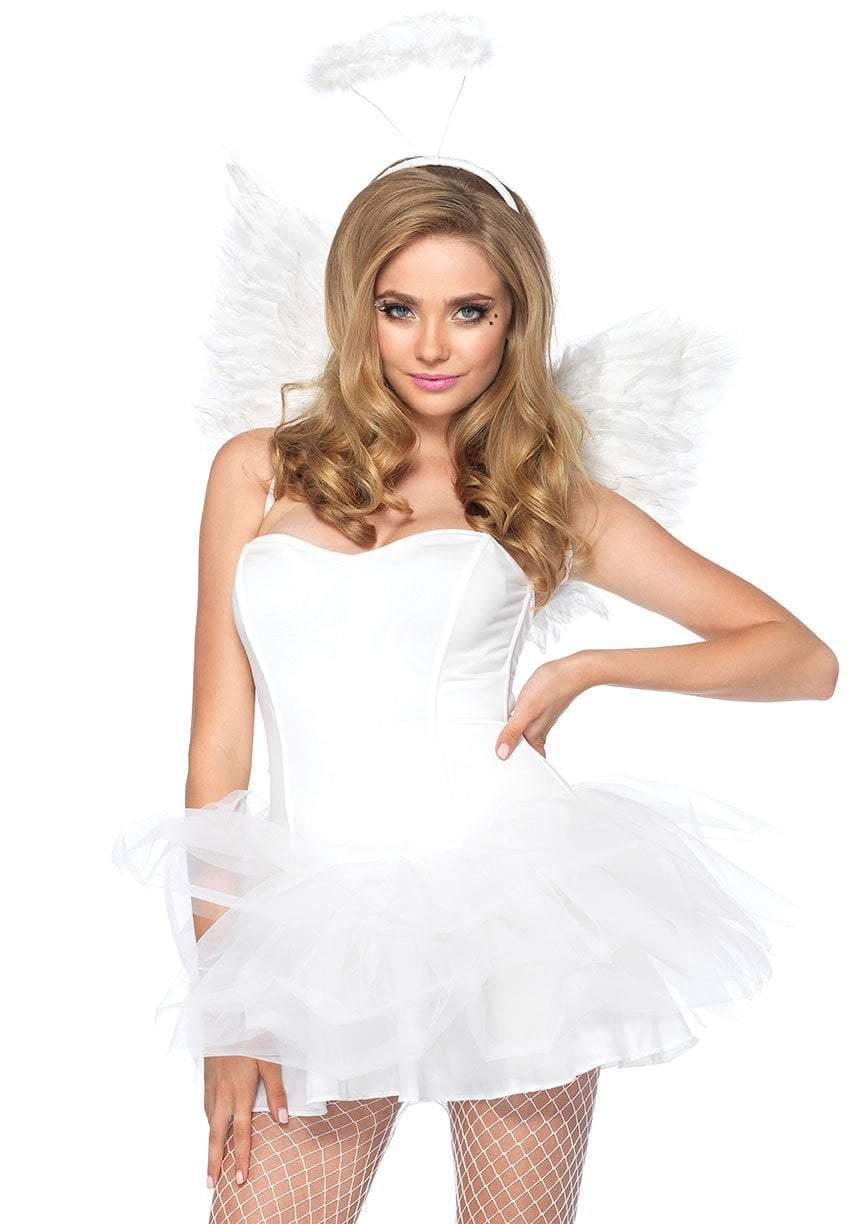 Leg Avenue Costume Accessories WHITE / O/S Angel Accessory Kit