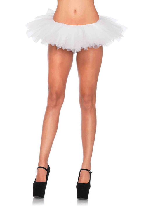 Leg Avenue Costume Accessories WHITE / O/S Organza Tutu