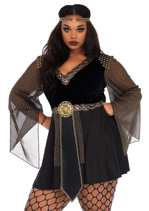 Leg Avenue Costumes 1X-2X Plus Size Glamazon Warrior Costume