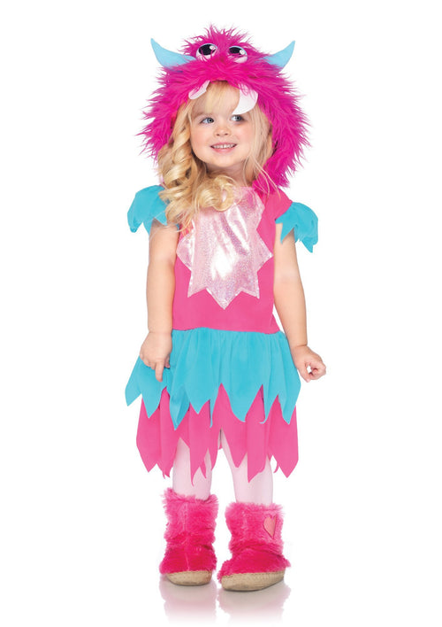Leg Avenue Costumes 2T-3T Toddle Girls Sweetheart Monster Costume