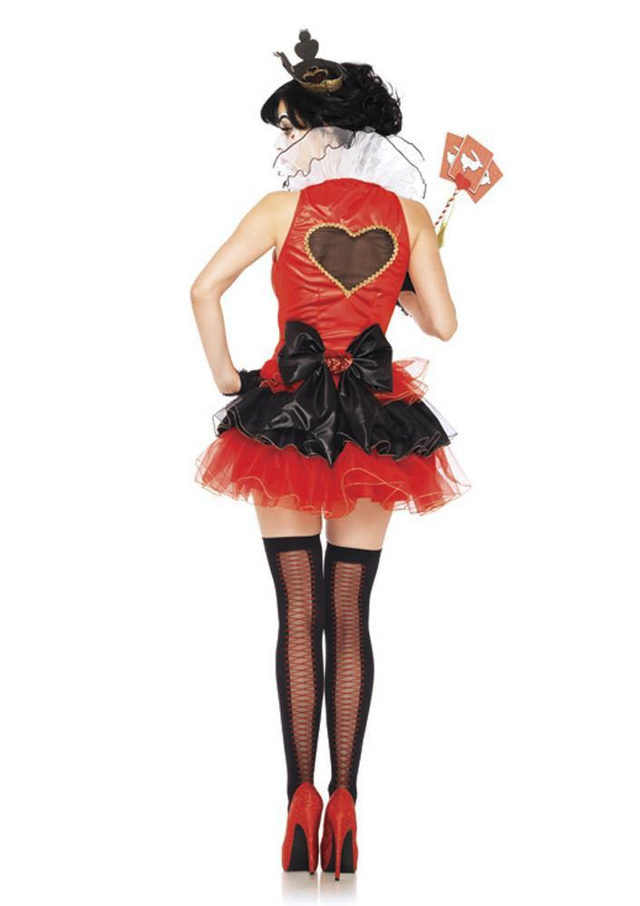 Leg Avenue Costumes Adult Black Heart Queen Costume