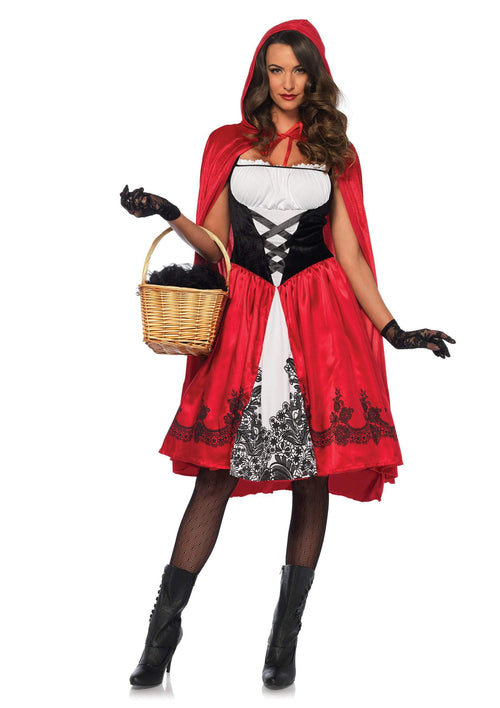 Leg Avenue Costumes Adult Classic Red Riding Hood Costume