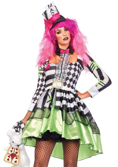 Leg Avenue Costumes Adult Deliriously Mad Hatter Costume