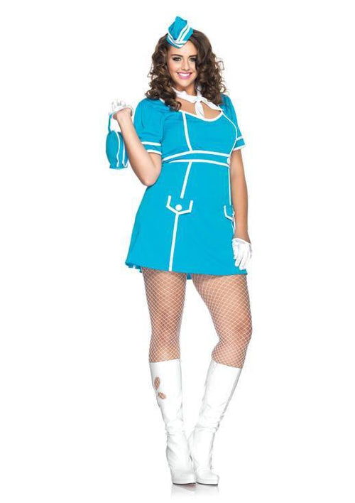 Leg Avenue Costumes Adult Flight Attendant Plus Costume