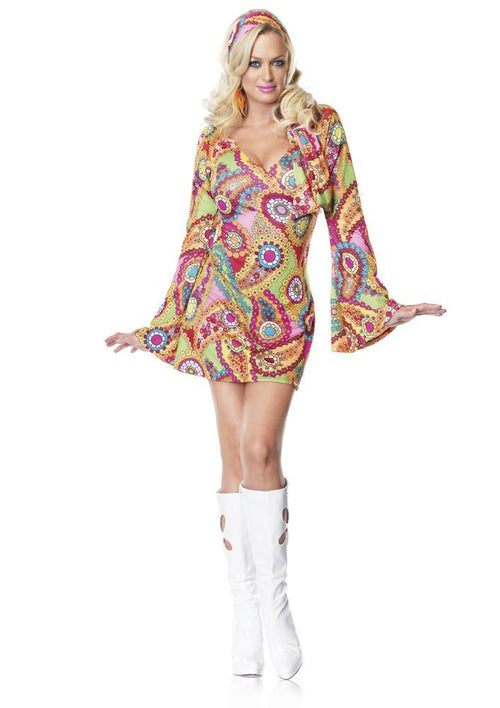 Leg Avenue Costumes Adult Hippie Chick 60s Costume