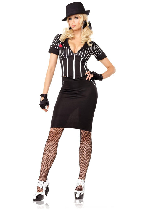 Leg Avenue Costumes Adult Machine Gun Molly Costume