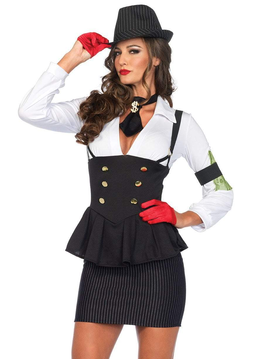 Leg Avenue Costumes Adult Machine Gun Molly Gangster Costume