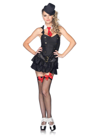 Adult Gangster Girl Costume