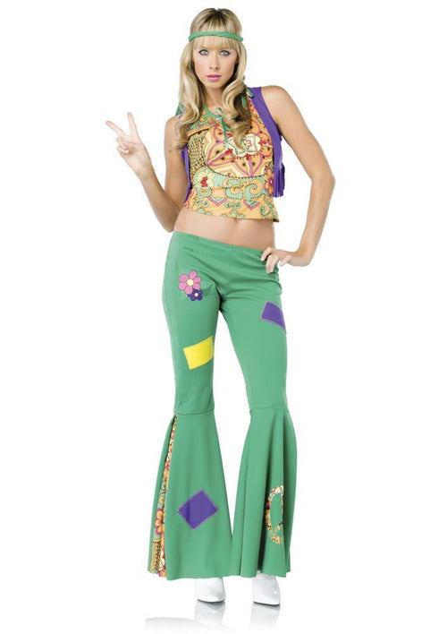 Leg Avenue Costumes Adult Peace Sign Hippie Costume