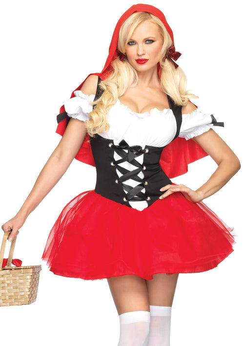 Leg Avenue Costumes Adult Racy Red Riding Hood Costume