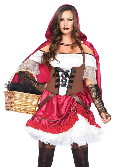 Leg Avenue Costumes Adult Rebel Riding Hood Costume