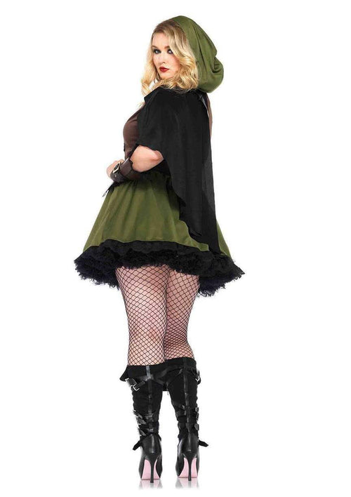 Leg Avenue Costumes Adult Robin Hood Plus Size Costume