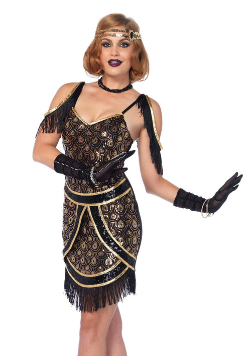 Leg Avenue Costumes Adult Speakeasy Sweetie Flapper Costume