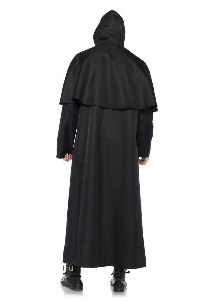 Leg Avenue Costumes Black Hooded Cloak