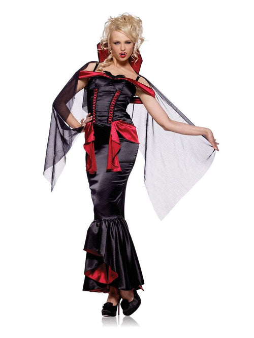 Leg Avenue Costumes BLACK/RED / LARGE Vampire Queen Costume