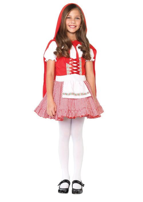 Leg Avenue Costumes Girls Lil Miss Red Riding Hood Costume