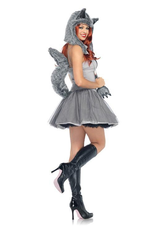 Leg Avenue Costumes Gorgeous Grey Wolf Costume
