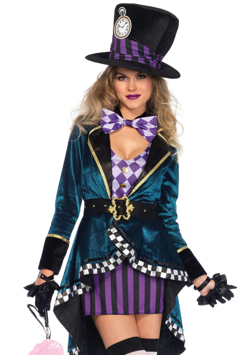 Leg Avenue Costumes LARGE Adult Delightful Hatter Costume