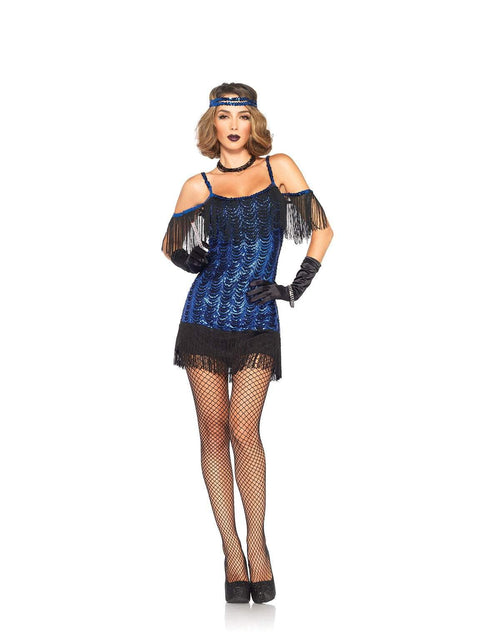 Leg Avenue Costumes LARGE Adult Gatsby Flapper Costume