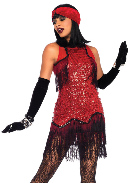 Leg Avenue Costumes LARGE Adult Gatsby Girl Flapper Costume
