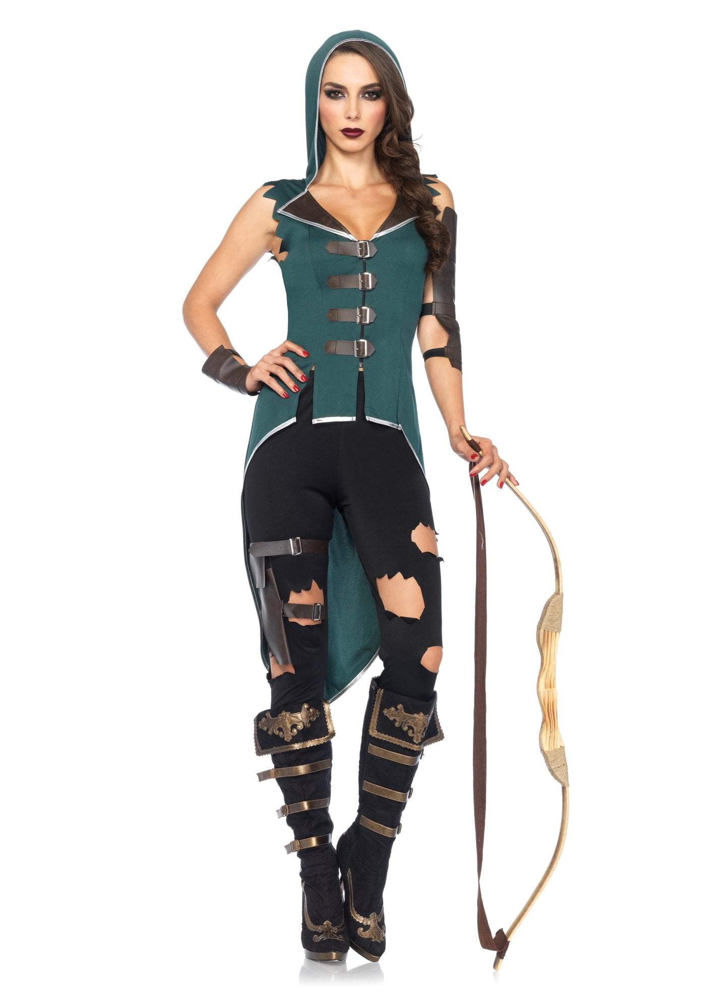 Leg Avenue Costumes LARGE Adult Rebel Robin Hood Costume