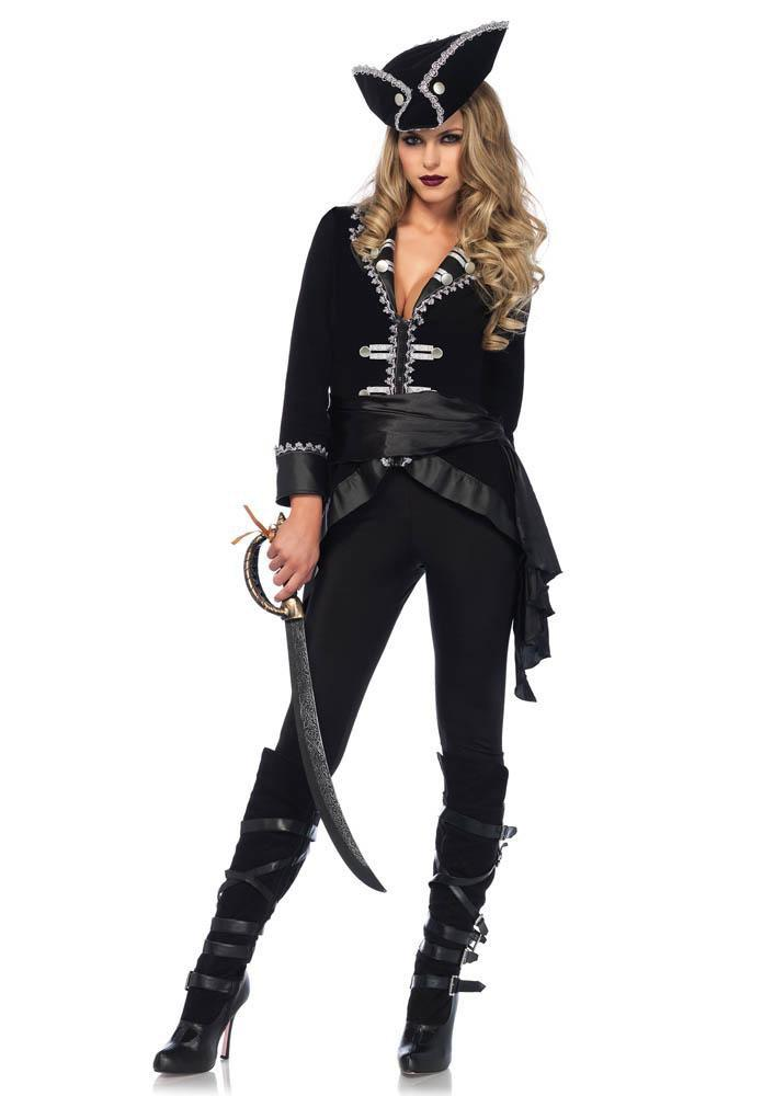 Leg Avenue Costumes LARGE Adult Seven Seas Beauty Pirate Costume