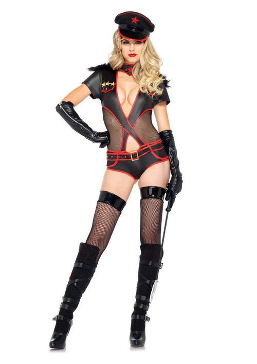 Leg Avenue Costumes LARGE / BLACK Rear Admiral Costume