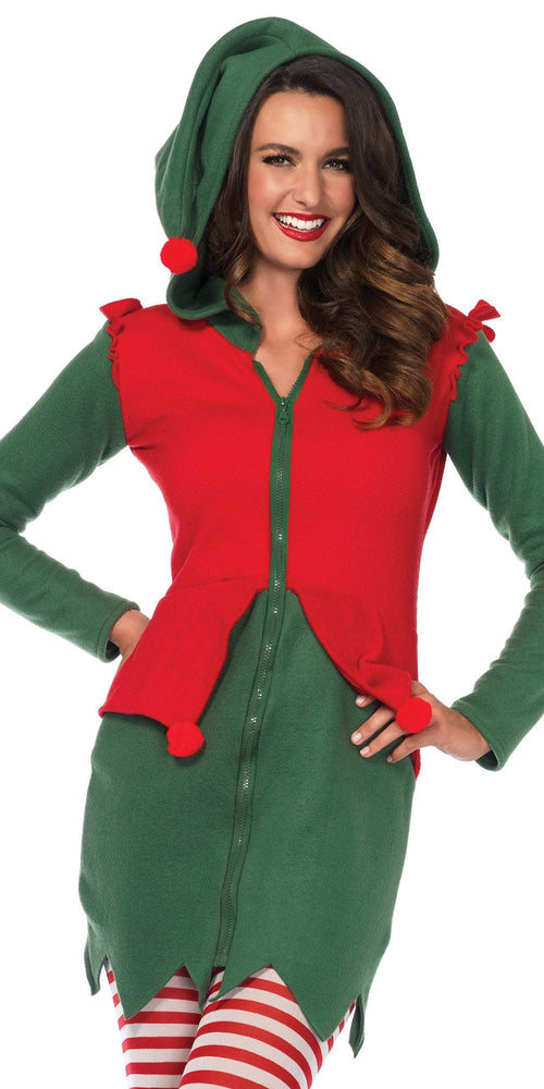 Leg Avenue Costumes LARGE Cozy Elf Dress Costume