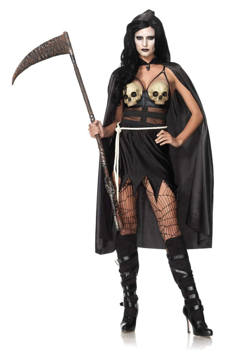 Leg Avenue Costumes LARGE Death Dealer Costume