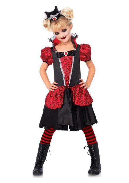 Leg Avenue Costumes LARGE / MULTICOLOR Girls Vampire Queen Costume